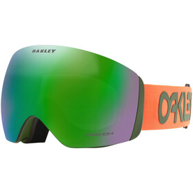 Oakley Flight Deck XL Schneebrille factory pilot orange dark brush/prizm snow jade